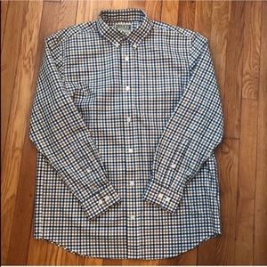 Duluth Trading Co. Long-Sleeved Button Down